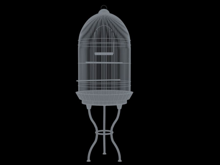 Bird Cage royalty-free 3d model - Preview no. 2