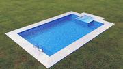 Swimming pool 3 3d model