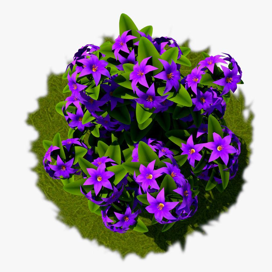 Arbusto de flores 05 royalty-free 3d model - Preview no. 2