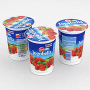 Zott Jogobella Yogurt Fragola 400g 3d model