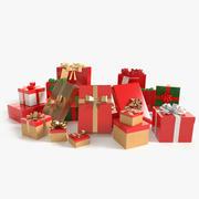 Presentes de Natal 3d model