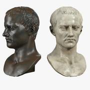 Roman Bust 3d model