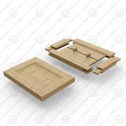 Structures de menuiserie 3d model