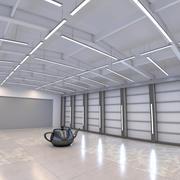 Hangar Studio 3d model