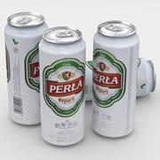 Beer Can Perla Export 500ml 3d model