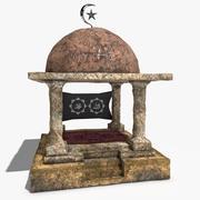 Mezquita antigua modelo 3d