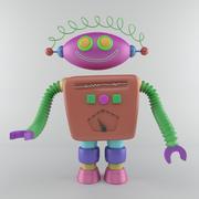 漫画ロボット集 3d model