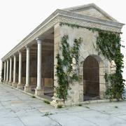 Budynek starożytnej Grecji 3d model