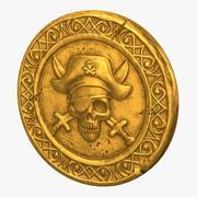 Skull Coin v2 modelo 3d