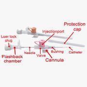 Peripheral Venous Catheter 3d model