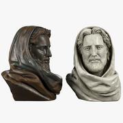 Popiersie Jezusa Chrystusa 3d model