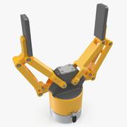 2本指ロボットハンドグリッパージェネリック 3d model