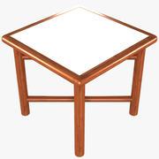 折りたたみピクニック用テーブル 3d model