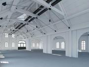 Loft Warehouse 3d model