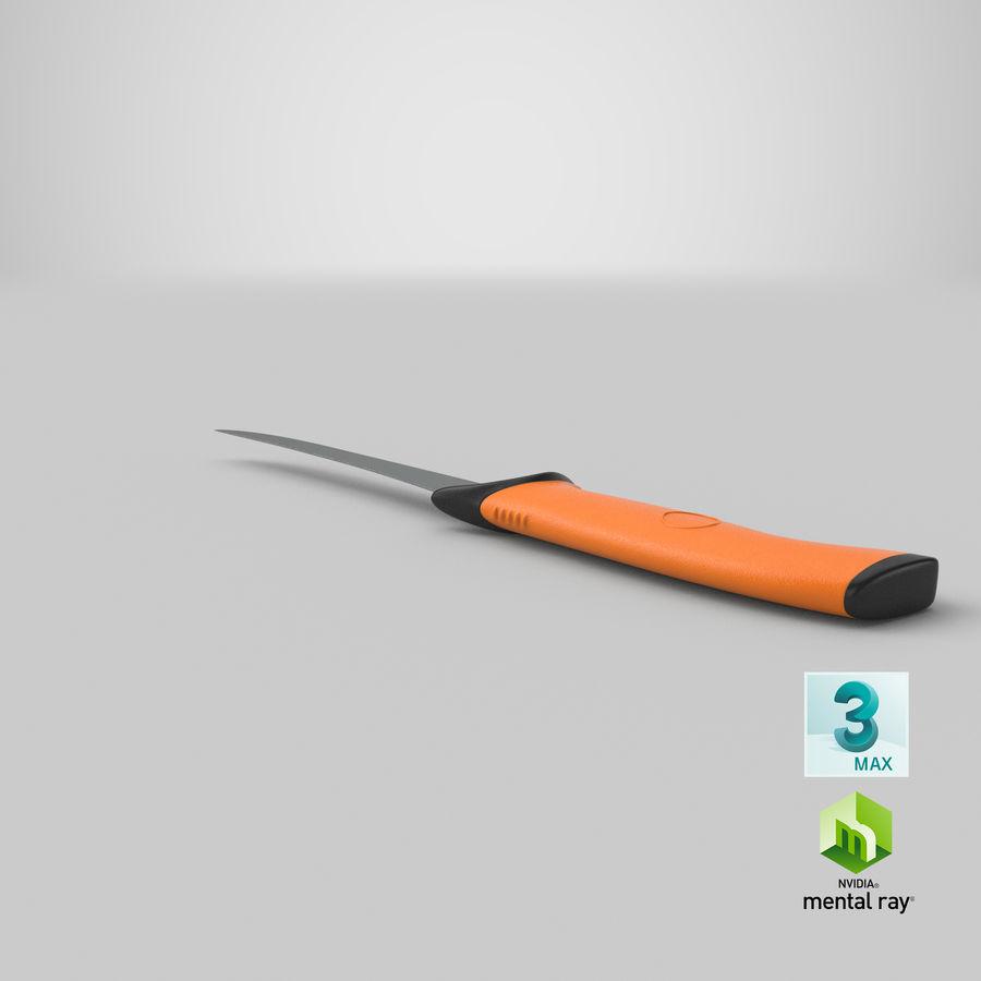 Boning Knife 01 royalty-free 3d model - Preview no. 23