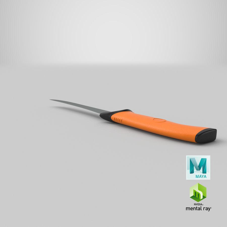 Boning Knife 01 royalty-free 3d model - Preview no. 21