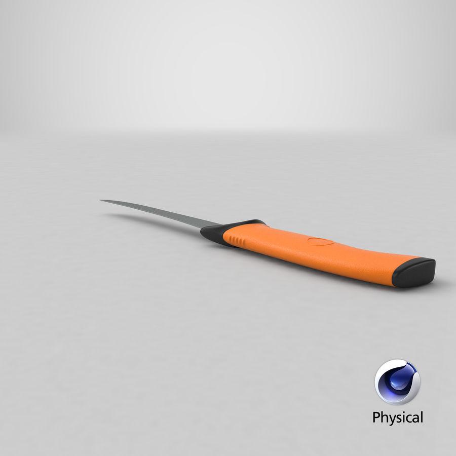 Boning Knife 01 royalty-free 3d model - Preview no. 26
