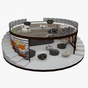 Te Kaffe Bar 3d model