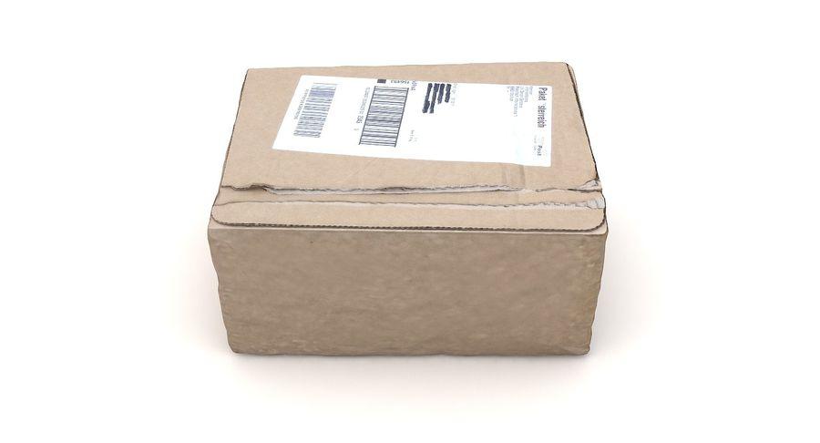 Boîte en carton 01 royalty-free 3d model - Preview no. 11