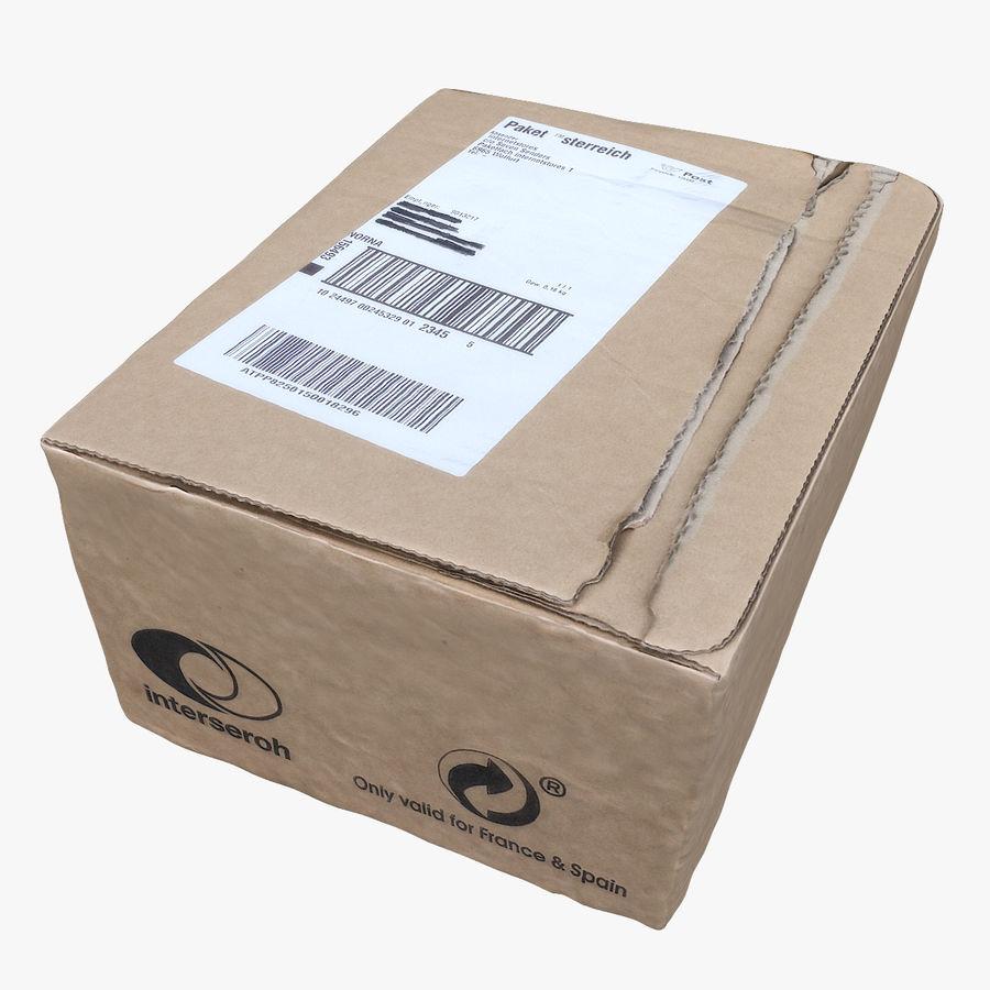 Boîte en carton 01 royalty-free 3d model - Preview no. 1