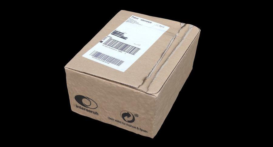 Boîte en carton 01 royalty-free 3d model - Preview no. 2