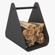 Firewood Stack 3d model