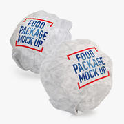 Burger packing 2 in 1 3d model