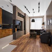 Scena wewnętrzna w jednym pokoju 3d model