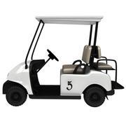 Wózek golfowy 3d model