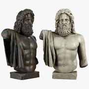Zeus-sculptuur 3d model