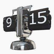 Retro Flip Clock 3d model