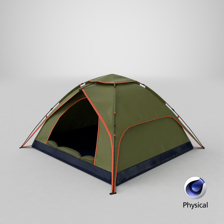 Camping Tent royalty-free 3d model - Preview no. 24