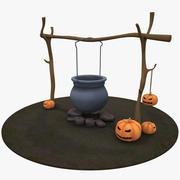 Decorazione Di Halloween 3d model