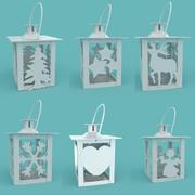 Collection de lanternes de Noël 3d model