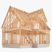 Construção de casas 01 3d model