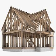 Construção de casas 02 3d model