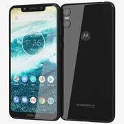 Motorola One Black 3d model