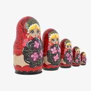 Matryoshka Doll 3d model