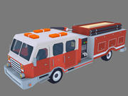Пожарная машина 3d model
