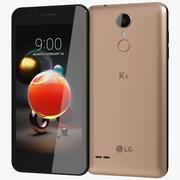 LG K9 Gold modelo 3d