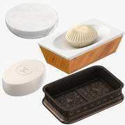 Soap Dishes 3d model