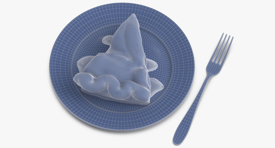 Ломтик яблочного пирога royalty-free 3d model - Preview no. 11