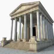 古代ギリシャ神殿2 3d model