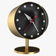 Vitra gold clock 3d model