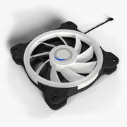 120mm RBG Fan 3d model