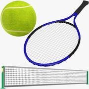 Tennis Collectie 3d model