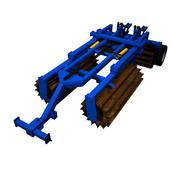 Chopping roller 3d model