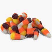 Candy Corn 5 3d model
