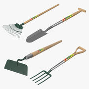 Garden Tools Collection 3d model