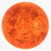 Солнечная звезда 3d model